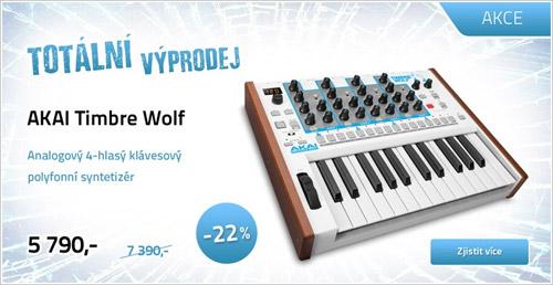 Analogový syntezátor AKAI Timbre Wolf