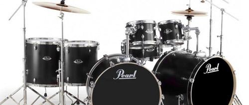 Poloprofesionální bicí sada Pearl Export EXX727/C256 HWP830