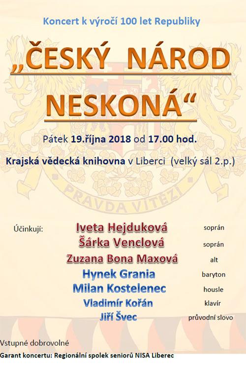 Český národ neskoná 19.10.2018