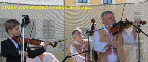 Cimbálová muzika Dušana Kotlára světí pramen