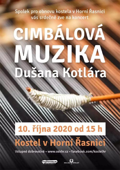 Cimbálová muzika v Horní Řasnici