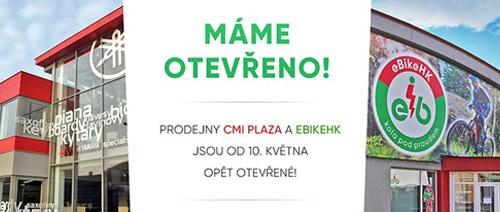 CMI plaza opět otevřeno