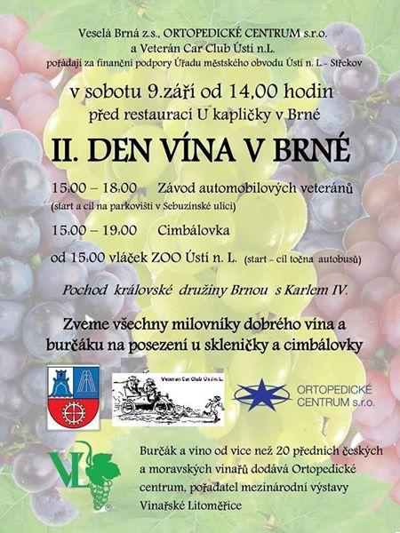 II. Den vína v Brné