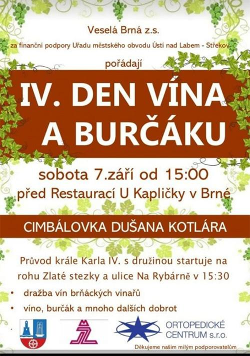 IV. Den vína a burčáku v Brné