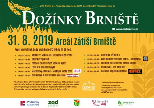 Dožínky Brniště - program akce