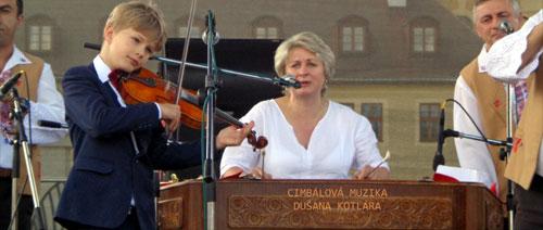 Koncert Cimbálové muziky Dušana Kotlára v Turnově