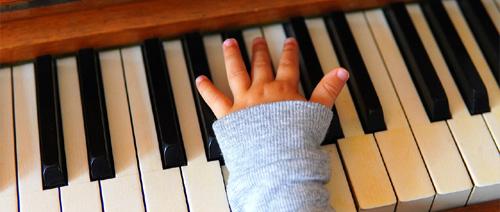 Elektronické klávesy pro děti