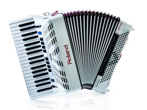 Prodej digitálního akordeonu Roland FR 3X WH