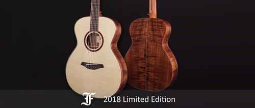 Furch představuje limitovanou edici kytar pro rok 2018