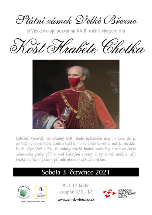 Plakát Košt hraběte Chotka