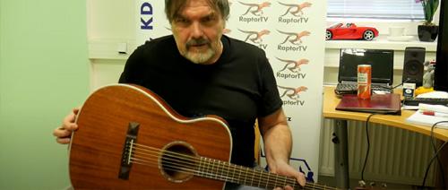 Kytara Tasman TA150O-E pohledem Romana Horkého