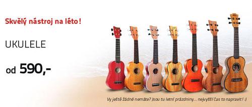 Léto s ukulele