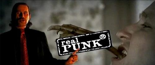 Visáči - Známka punku
