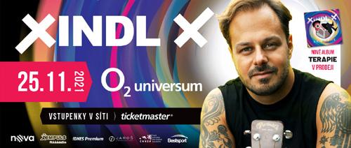 Xindl X - koncert 25.11.2021