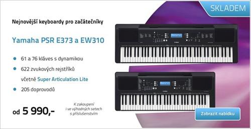 Nové keyboardy Yamaha