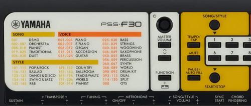 Nové mini digitální keyboardy Yamaha PSS
