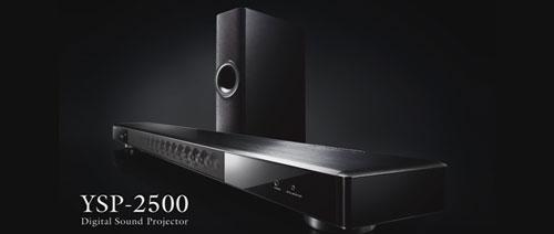 Domácí kino: Soundbar Yamaha YSP 2500