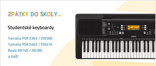 Zpátky do školy 2020 - Keyboardy